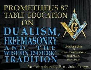 Dualism, Freemasonry and the Western Esoteric Tradition @ Roma Cafe Ristorante